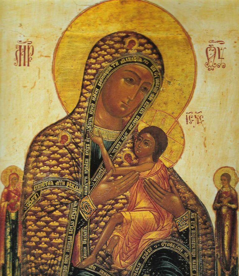 О,всепетая мати, рождшая всех святых святейшее слово!