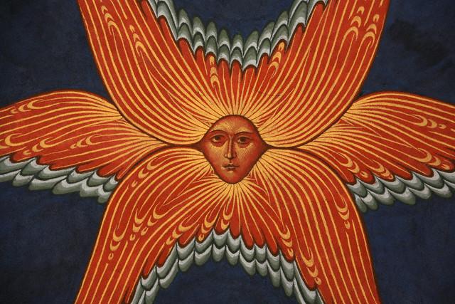 Серафимы - скрытый образ Арахны, арахноиды (ое) солнце