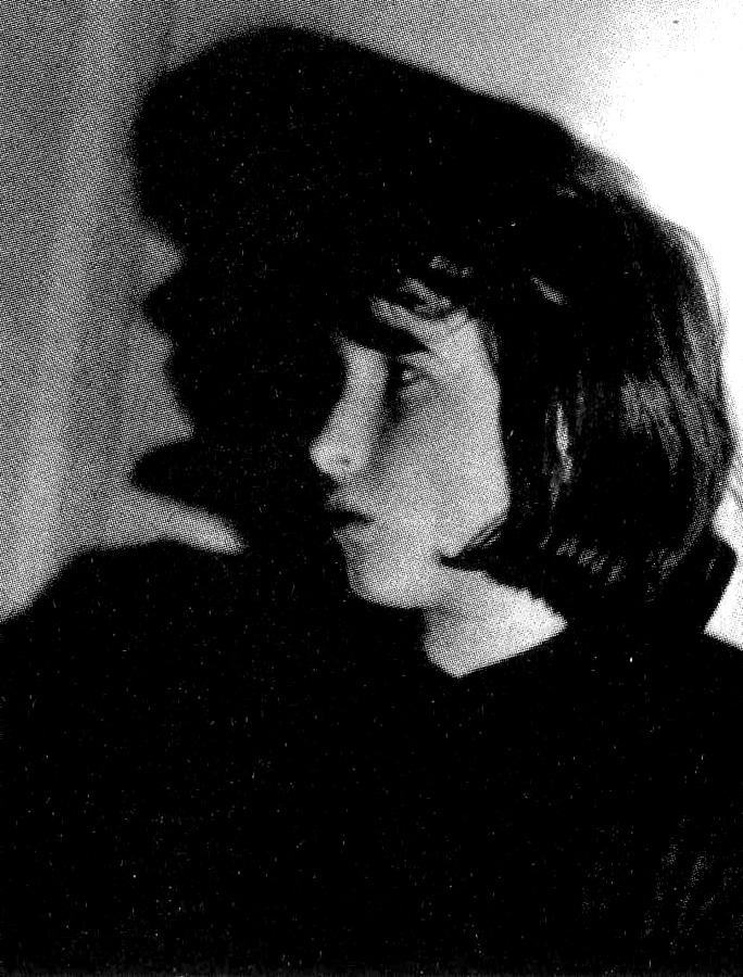 Елена Шварц - фотография Лидии Гинзбург - конец 60-х
