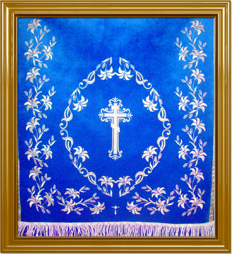 Орнамент в церковной вышивке 86