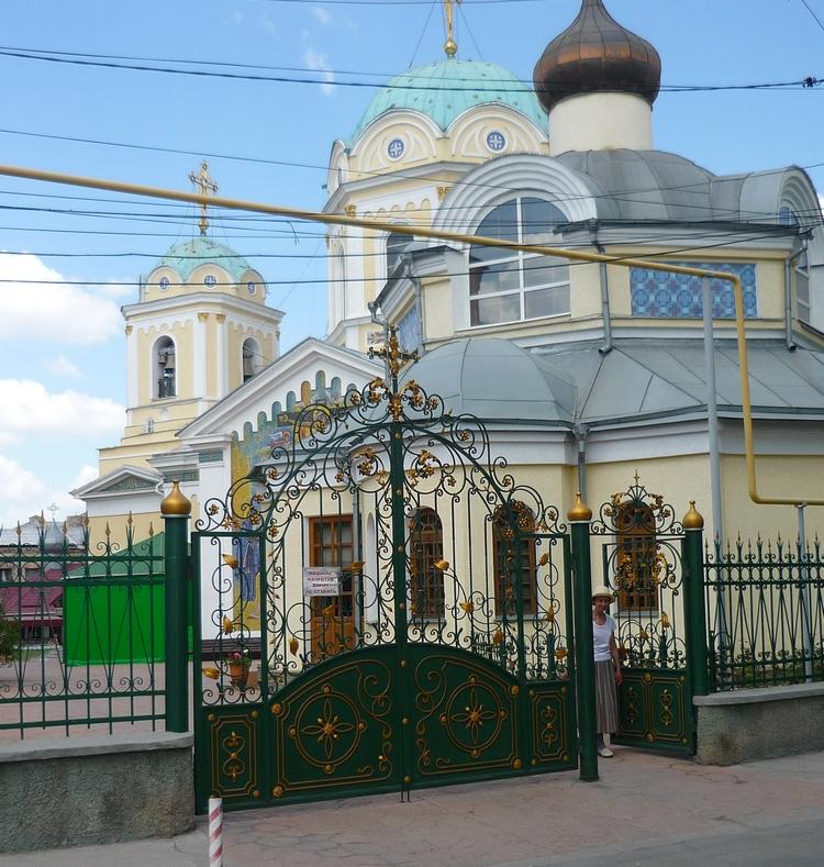 Где находится свято троицкий храм в 130