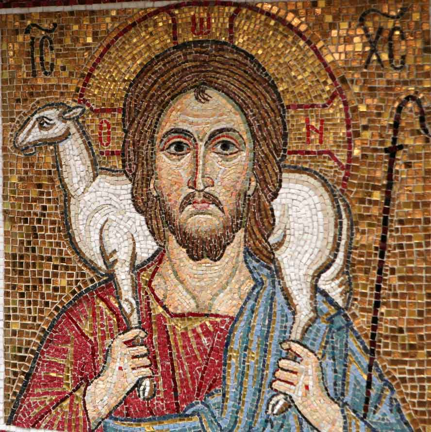 Богоматерь с иисусом мозаика доклад 4671
