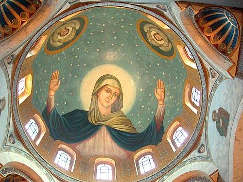Купол в церкви Святой Марии.