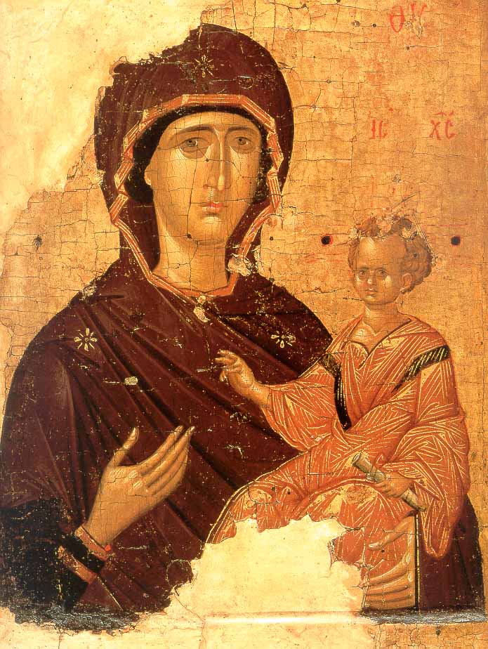 Одигитрия византия первая четверть xv