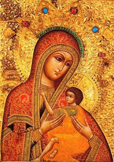 икона скорбящая мать: