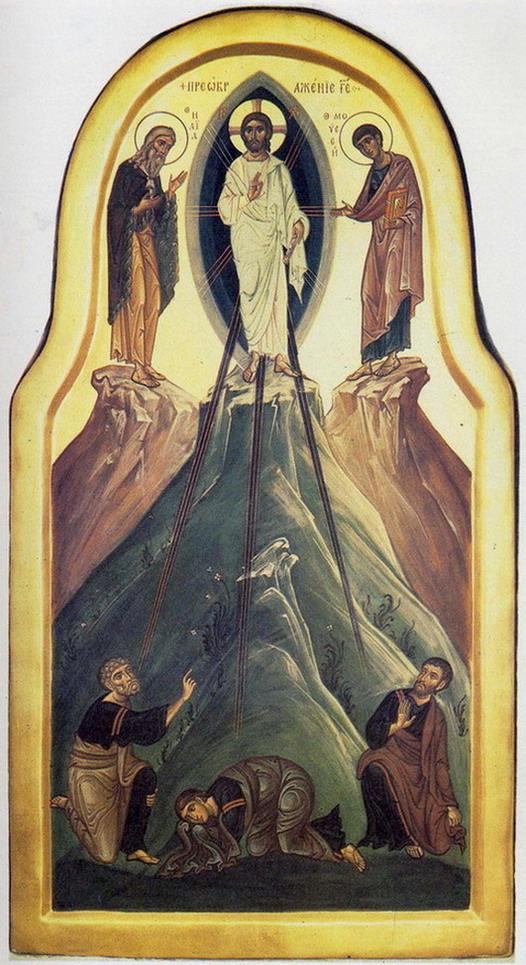 ПРЕОБРАЖЕНИЕ ГОСПОДНЕ Покровская церковь Псково-Печерский Успенский монастырь Архимандрит Зинон 1985 г.