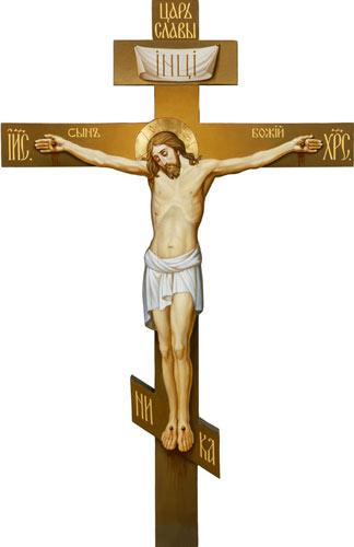 В этот день, в третью Неделю поста, мы празднуем поклонение Честному и Животворящему Кресту по следующим причинам.