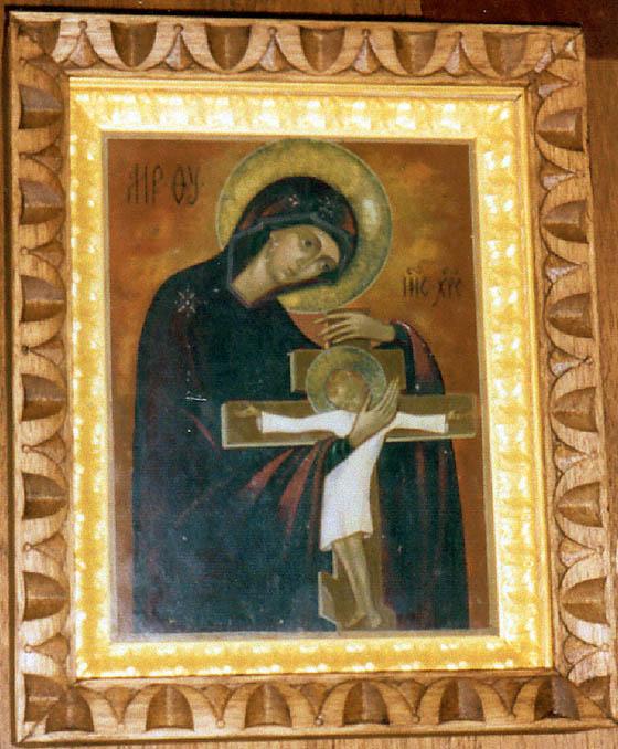 Последняя работа матери Марии. Художница С.А.Раевская-Оцуп