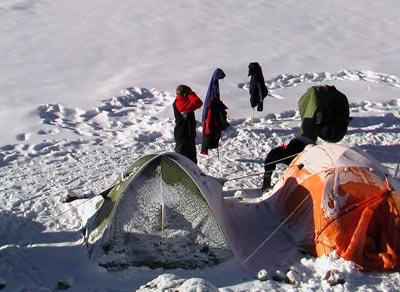 Лагерь 3900м