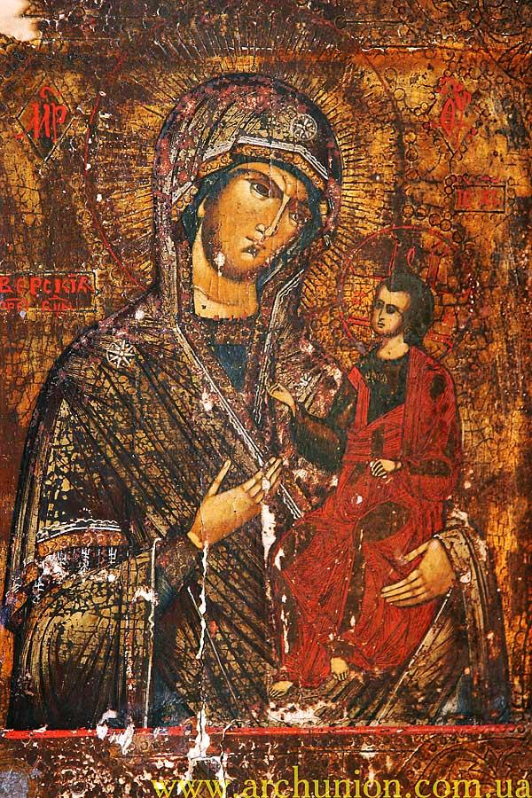 Икона Божия Матерь Иверская.