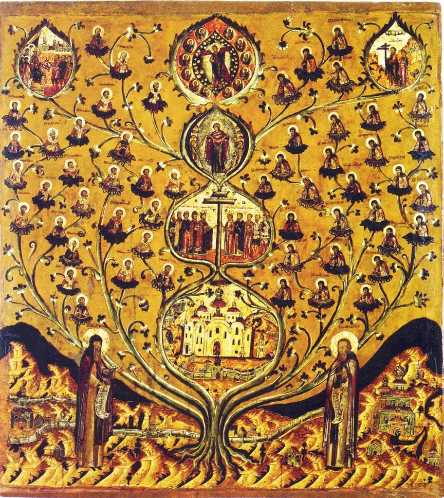 икона древо: