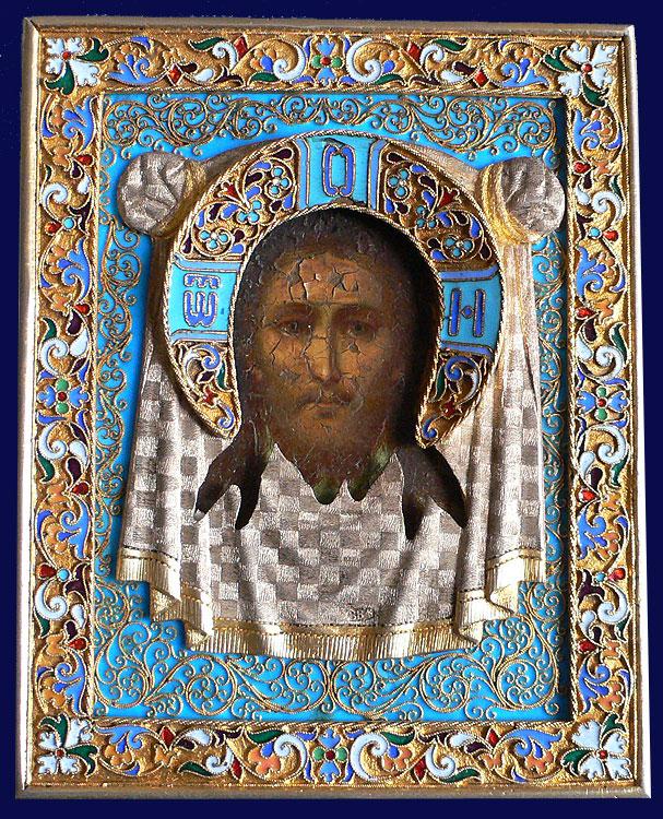 Серебряных дел мастер Овчинников, 1883 Москва 11 x 8.9 см russian.antique.com
