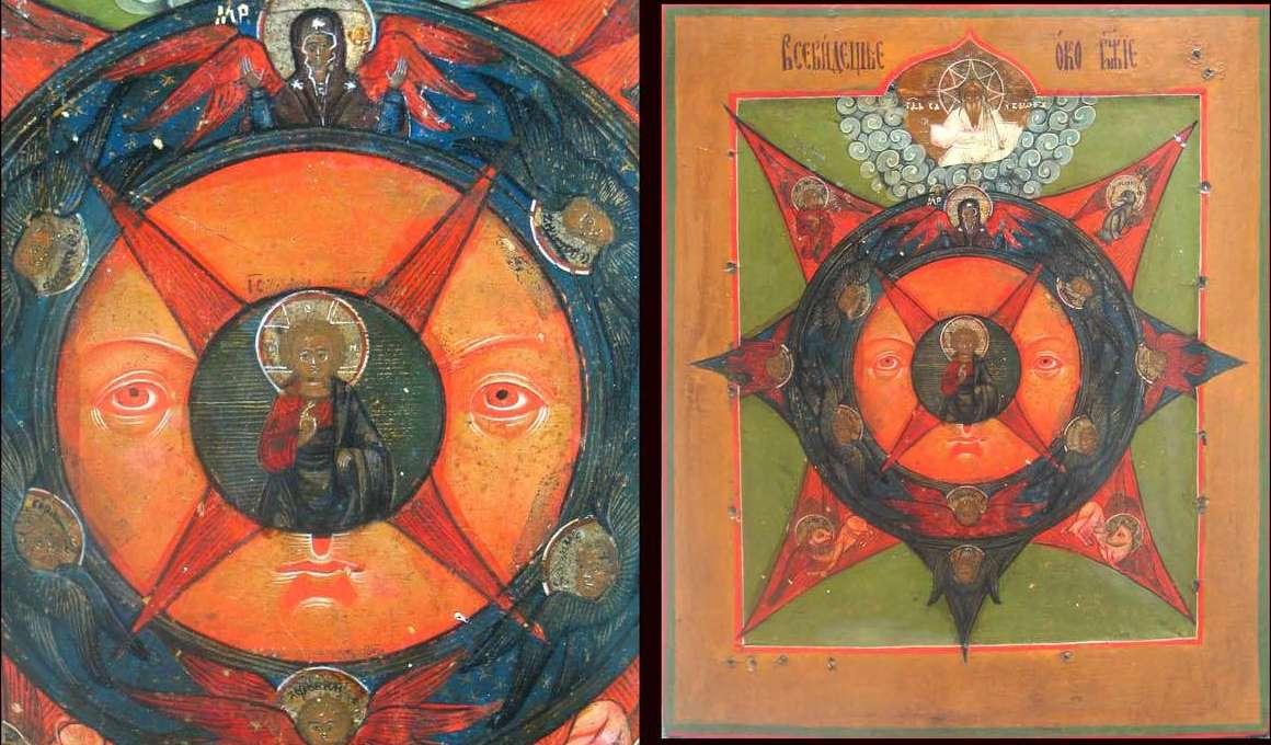 Всевидящее око - мистический символ, пришедший к нам из древнего египта
