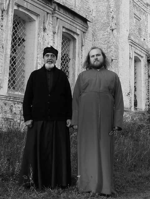 протоиерей Андрей Ефанов и иерей Анатолий Кирпа