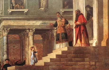 Фото 1. Картины Тициана.