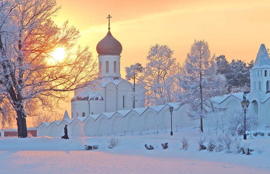Храм зимой картинки 7